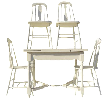 Vintage Amp Used Dining Table Amp Chair Sets Chairish