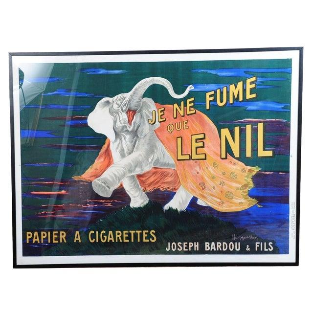 Image of Je Ne Fume Que Le Nil-Original 20s Elephant Poster
