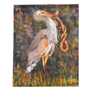 """""""Elegant Capture"""" Painting by Leslie Moody"""