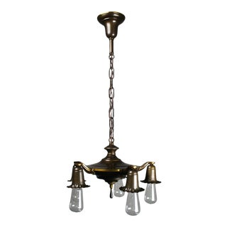 "1930s Bare Bulb ""Daffodill"" Fixture (5-light)"