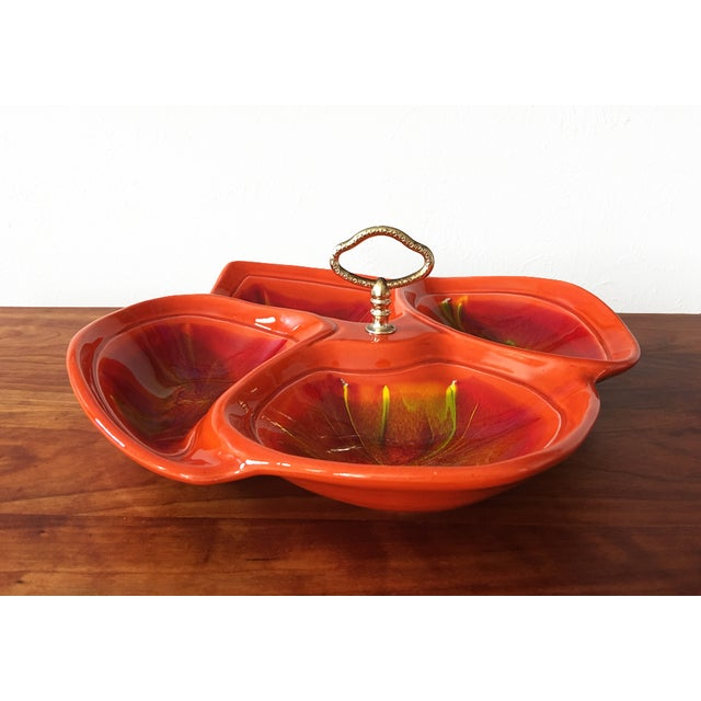 Mid Century Divided Serving Dish - Image 3 of 6