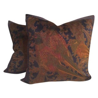 "Ralph Lauren ""Hunting Manor"" Down Pillows - 2"