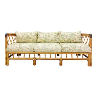 Vintage Wilshire Bamboo Sofa