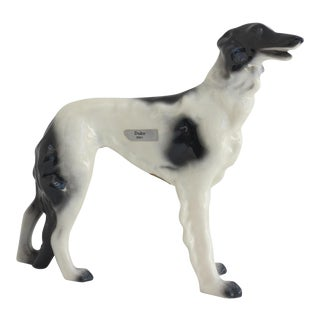 Ceramic Artware Dog Figurine