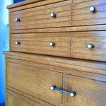 Image of Mid Century 5-Drawer High Boy Dresser in Ash