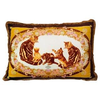 Original Versace Velvet Pillow