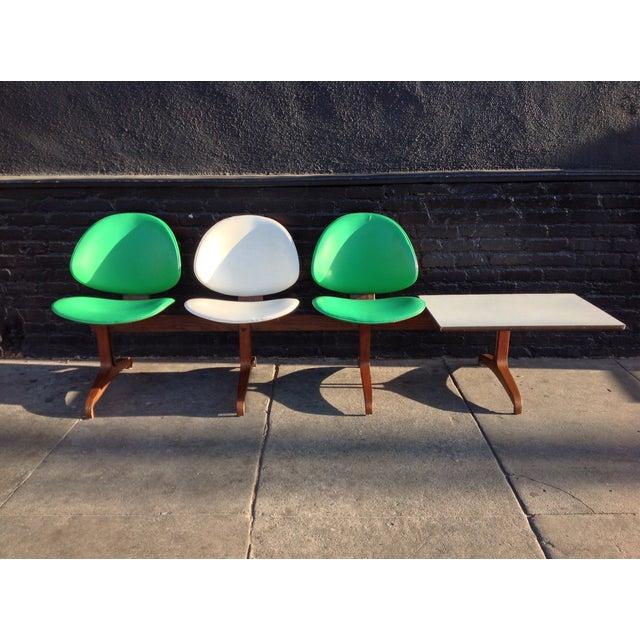 Kodawood Mid Century 3-Seater Bench - Image 2 of 7