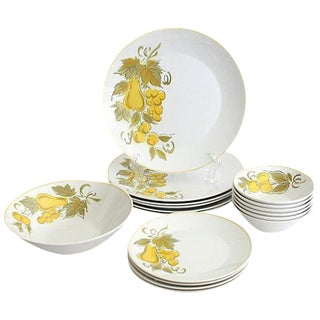 Japanese Mikasa Dish Set - 17 Pieces
