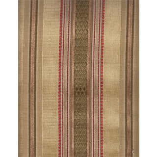 Lee Jofa Prince Regent Fawn Stripe Velvet - 1.375 Yards