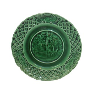 19th C. English Majolica Plate