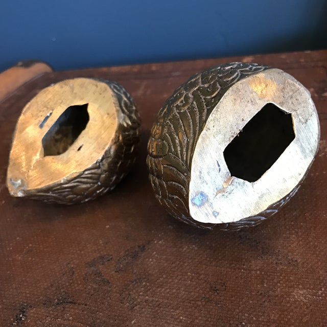 Brass Quails - A Pair - Image 6 of 6
