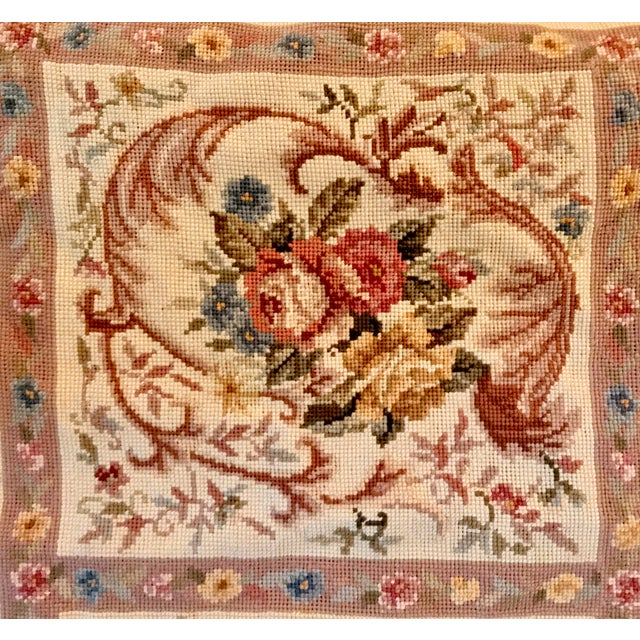 French Aubusson Needlepoint Rug - 8′6″ × 11′6″ - Image 4 of 11