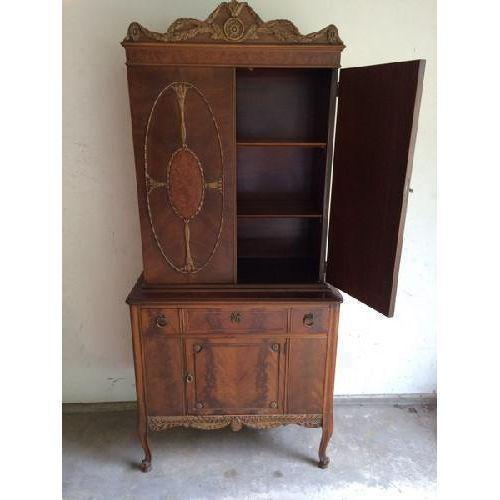 Vintage Batesville China Storage Cabinet - Image 4 of 8