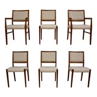 Teak Dining Chairs by Svegards Markaryd - Set of 6