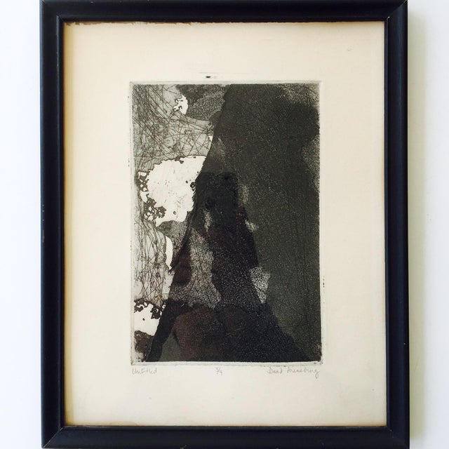 Vintage Original Abstract Lithograph - Image 2 of 7