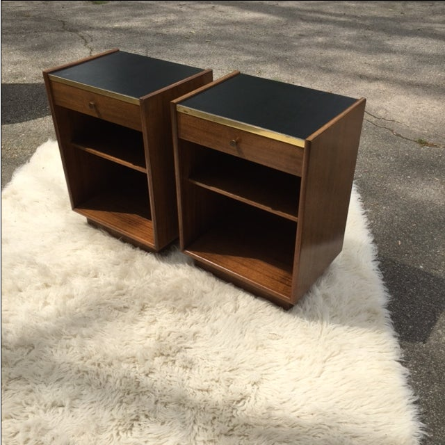 Image of Harvey Prober Bedside Tables - Pair