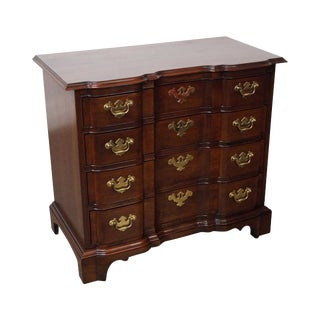 Hickory Chair Mahogany Chippendale Style Block Front Chest of Drawers