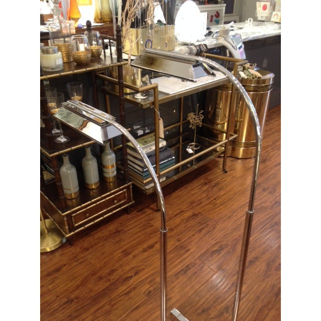 Image of Vintage 1970's Chrome Casella Floor Lamp