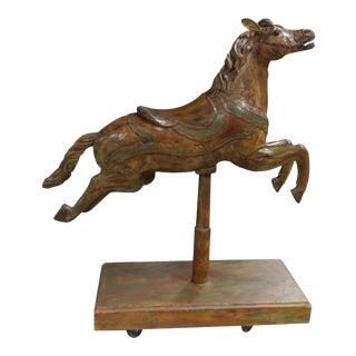 19th Century Polychrome Carousel Horse