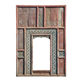 Antique Java Door Panel