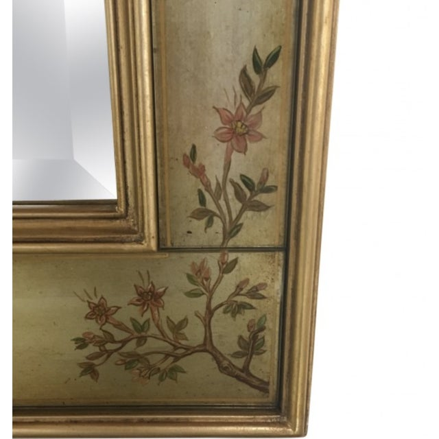 La Barge Chinoiserie Motif Mirror - Image 4 of 6