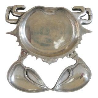 Aluminum Crab Appetizer Plate