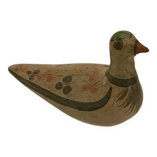 Mid-Century Modern Style Pottery Bird