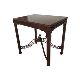Ethan Allen Sculpted Side Table