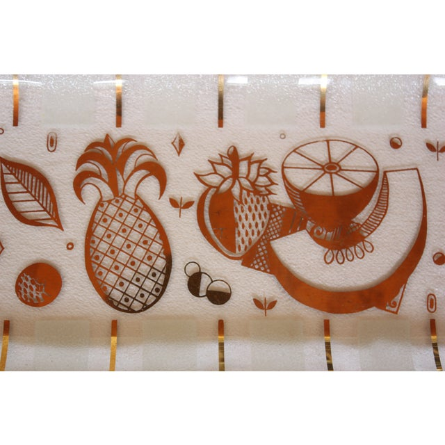 Image of Mid-Century Georges Briard Serving Tray