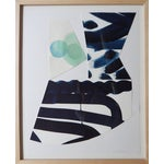 Image of Michelle Armas Blue Dot Collage Watercolor
