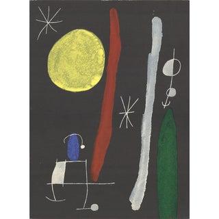Joan Miro, Sans Titre, 1967 Lithograph
