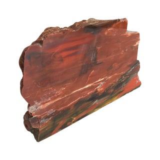 Petrified Wood Specimen Bookend