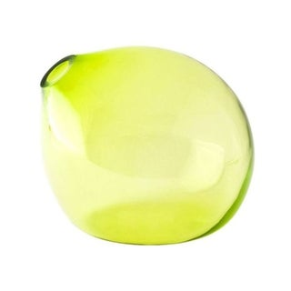 John Pomp Drop Vase in Citron