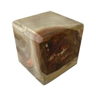 Vintage Agate Cube