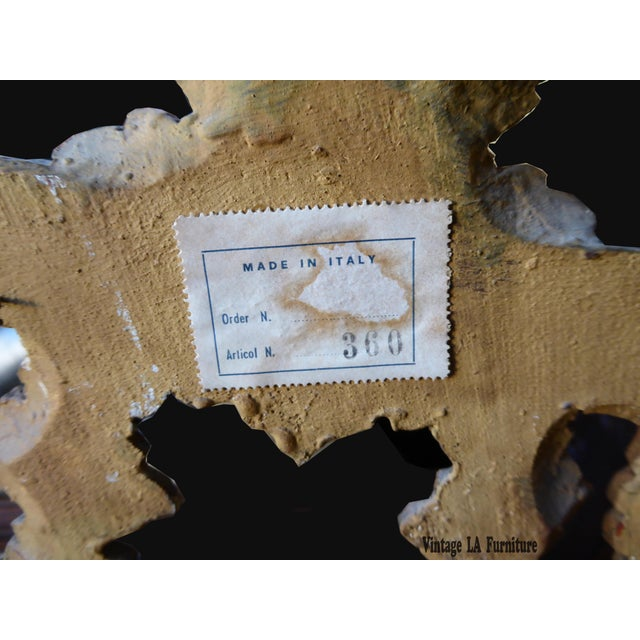 Italian Gilt Wood Mantle Mirror - Image 3 of 11