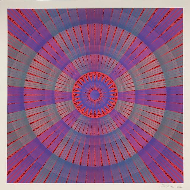 """Osiris"" Mixed Media Artwork - Image 4 of 4"