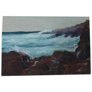 h.l. Musgrave Mid-Century Atlantic Ocean Painting