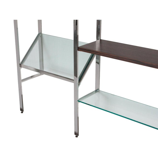Milo Baughman Wall Mounted Shelving System - Image 9 of 10