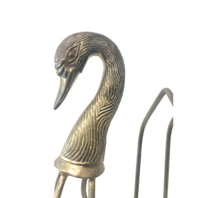 Image of Brass Swan Magazine Rack