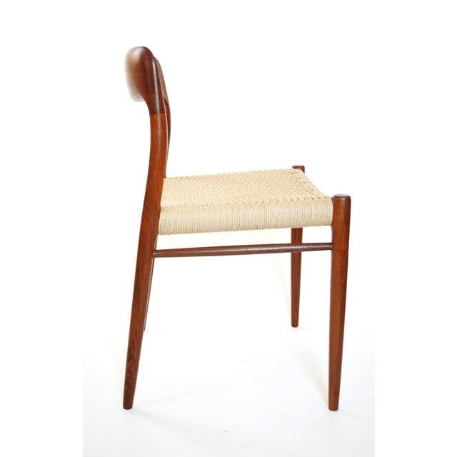 Image of Vintage Danish JL Moller Chair Model 75