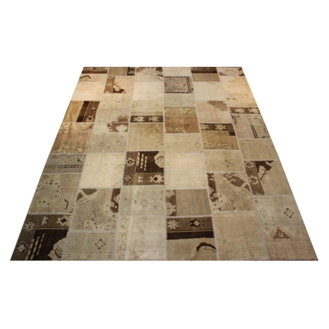 Turkish Multi-Colored Patchwork Rug - 8' x 10' - Image 2 of 7