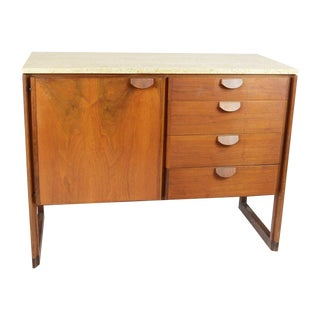 Jens Risom Office Credenza Cabinets - Set of 3