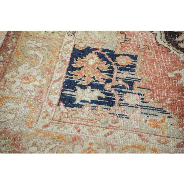 Vintage Oushak Carpet - 4′10″ × 8′2″ - Image 8 of 10