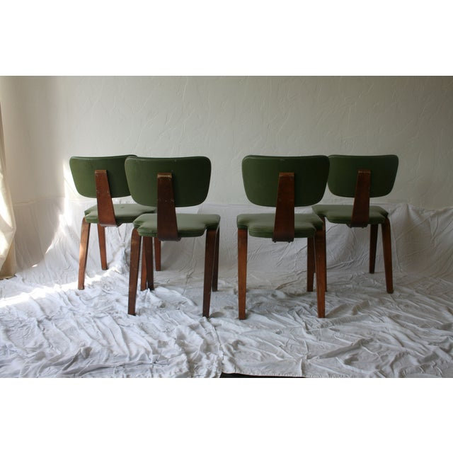 Vintage Thonet Bentwood Chairs - Set of 4 - Image 6 of 7