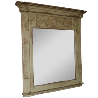 Farmhouse Collection Hand-Painted Mirror