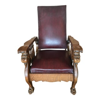 S.A. Cook Oak Automatic Chair Recliner