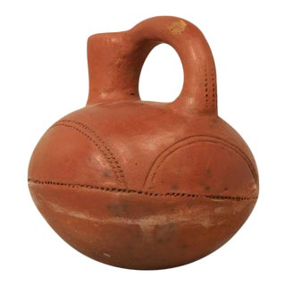 French Clay Pottery Vessel