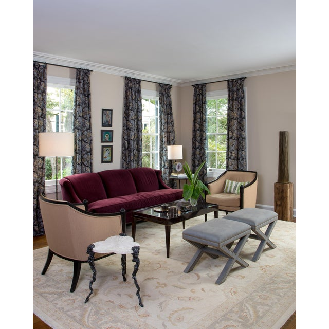 Art Deco Style Lounge Chairs - A Pair - Image 11 of 11