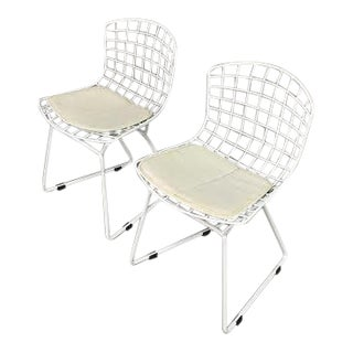 Harry Bertoia for Knoll Children's Wire Side Chairs - A Pair