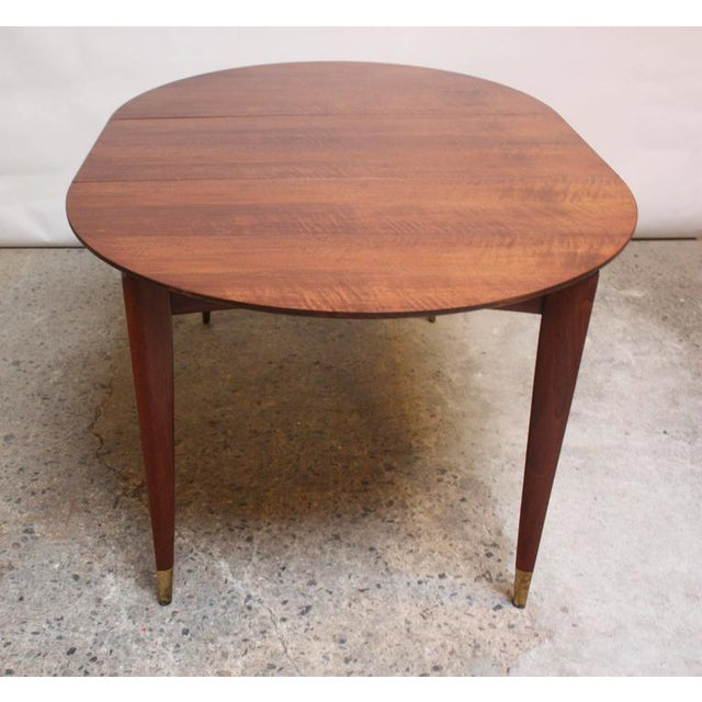 Gio Ponti Italian Walnut Dining Table for Singer & Sons - Image 9 of 11